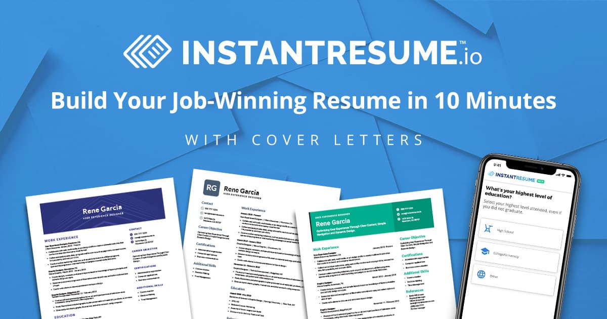 Job Search | Instant Resume